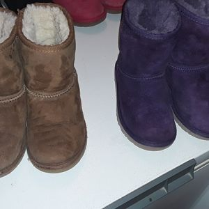 2 Pairs Girls size 12 Toddler Ugg Boots